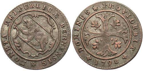 0.5 Батц Швейцария Серебро