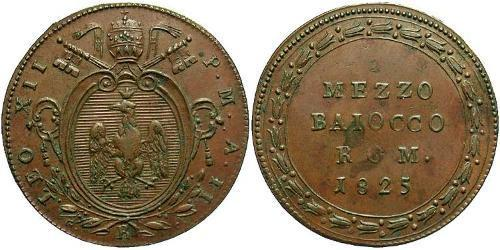 0.5 Baiocco Vatican (1926-) Copper