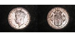 1/2 Crown Southern Rhodesia (1923-1980) Silver