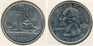 1/4 Dollar USA (1776 - ) Copper-Nickel