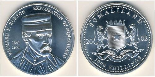 1000 Шиллинг Сомалиленд Серебро