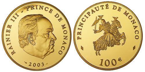 100 Евро Монако