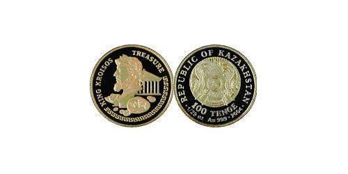 100 Тенге Казахстан (1991 - ) Золото