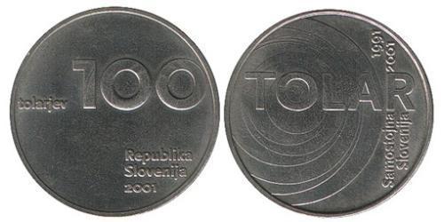 100 Толар Словения Никель/Медь