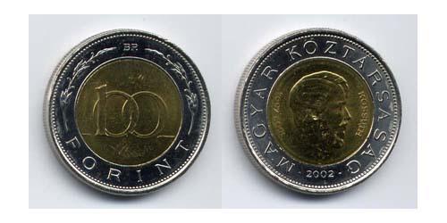 100 Форинт Венгрия (1989 - ) Биметалл