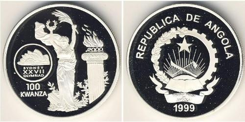 100 кванза Ангола,Республика Серебро