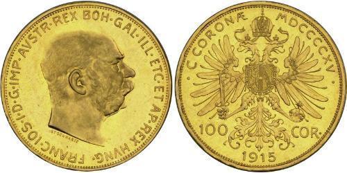 100 Corona Austria-Hungary (1867-1918) Gold Franz Joseph I (1830 - 1916)