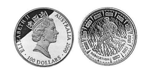 100 Dollar Australia (1939 - ) Gold