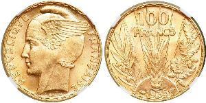 100 Franc French Third Republic (1870-1940)  Gold