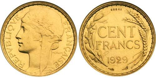 100 Franc French Third Republic (1870-1940)  Gold