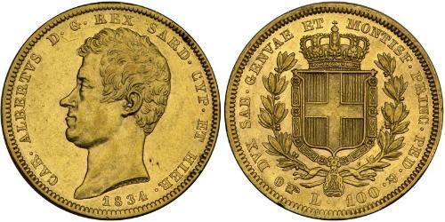100 Lira Italian city-states 金
