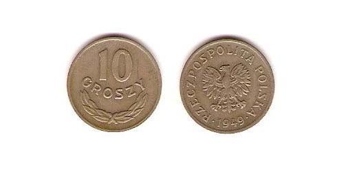 10 Грош Польша Никель/Медь