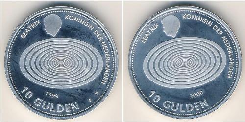 10 Гульден Королевство Нидерланды (1815 - ) Серебро