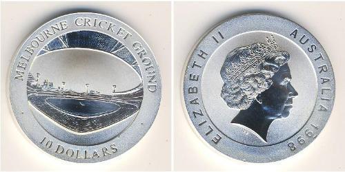 10 Доллар Австралия (1939 - ) Серебро