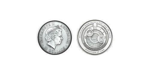 10 Доллар Австралия (1939 - ) Серебро Елизавета II (1926-)