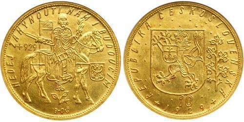 10 Дукат Чехословакия (918-1992) Золото