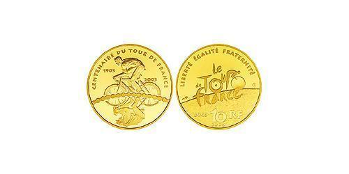 10 Евро Пятая французская республика (1958 - ) Золото