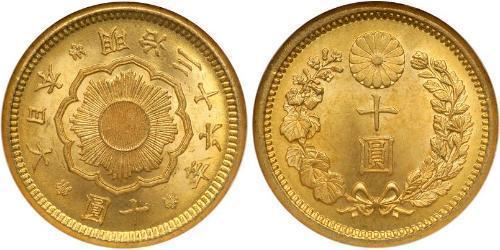10 Иена Япония Золото