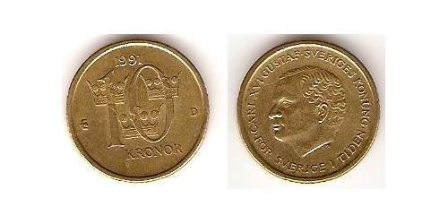 10 Крона Швеция