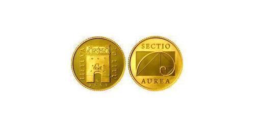 10 Лит Литва (1991 - ) Золото