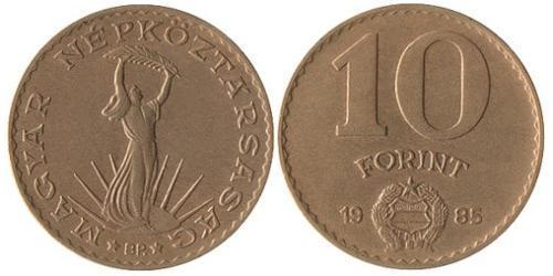 10 Форинт Венгерская Народная Республика (1949 - 1989) Алюминий/Бронза