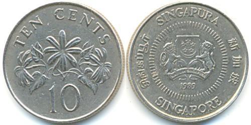 10 Cent Singapore Copper/Nickel