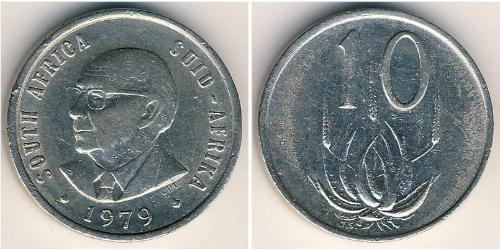 10 Cent South Africa Copper-Nickel