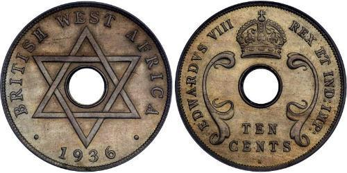 10 Cent British West Africa (1780 - 1960) Silver