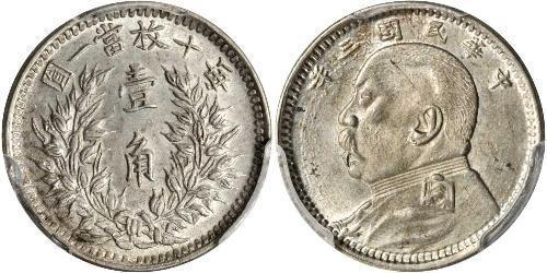 10 Cent República Popular China
