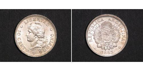 10 Centavo 阿根廷 銀