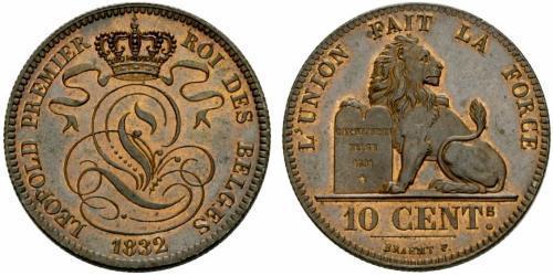 10 Centime Belgique