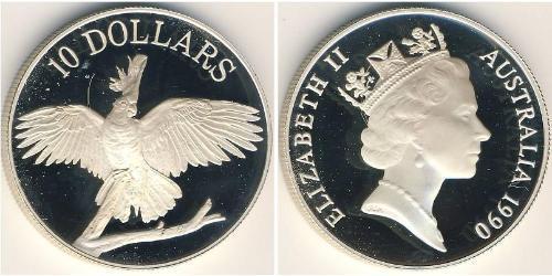 10 Dollar Australia (1939 - ) Silver