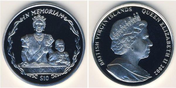 10 Dollar Virgin Islands Silver