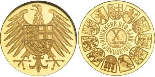 10 Ducat West Germany (1949-1990) Gold