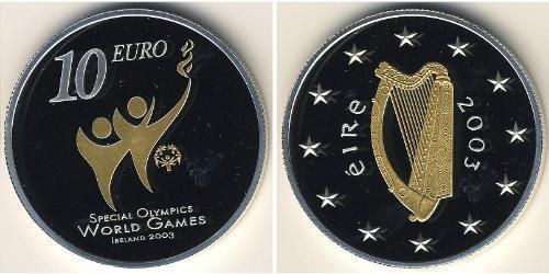 10 Euro Ireland (1922 - ) Silver