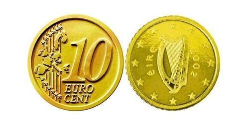 10 Eurocent Ireland (1922 - ) Tin/Aluminium/Copper/Zinc