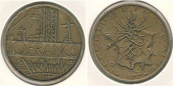 10 Franc France Bronze