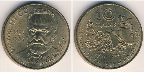 10 Franc French Fifth Republic (1958 - ) Bronze/Nickel