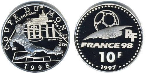 10 Franc French Fifth Republic (1958 - ) Silver