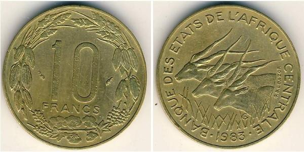 10 Franc Central African Republic