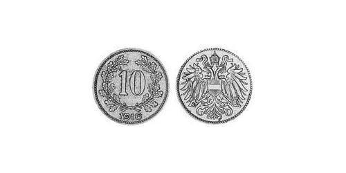 10 Heller Austria-Hungary (1867-1918) Copper/Zinc/Nickel