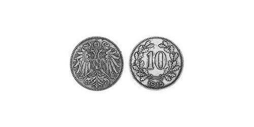 10 Heller Austria-Hungary (1867-1918) Copper/Zinc/Nickel