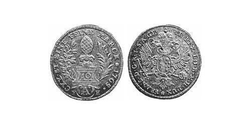 10 Kreuzer Imperial City of Augsburg (1276 - 1803) Billon