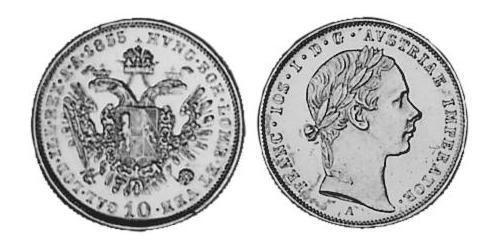 10 Kreuzer Austrian Empire (1804-1867) Silver