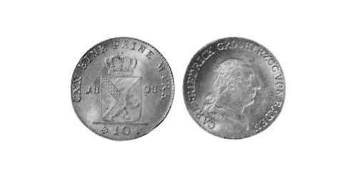 10 Kreuzer Grand Duchy of Baden (1806-1918) Silver