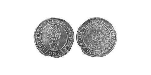 10 Kreuzer Imperial City of Augsburg (1276 - 1803) Silver Ferdinand I, Holy Roman Emperor(1503-1564)