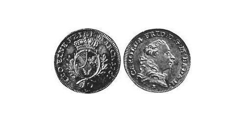 10 Kreuzer Margrave of Baden-Durlach (1535 - 1771) Silver