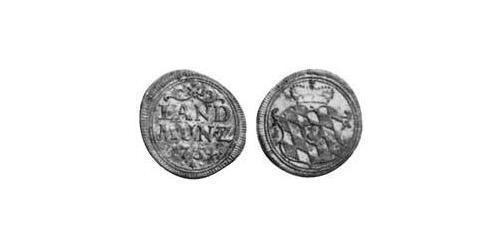 10 Pfennig Electorate of Bavaria (1623 - 1806) Silver Maximilian III Joseph, Elector of Bavaria (1727 – 1777)