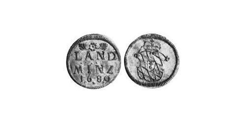 10 Pfennig Electorate of Bavaria (1623 - 1806) Silver