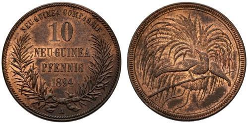 10 Pfennig Nuova Guinea